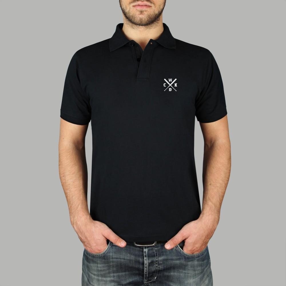 Polo Raglan Noir