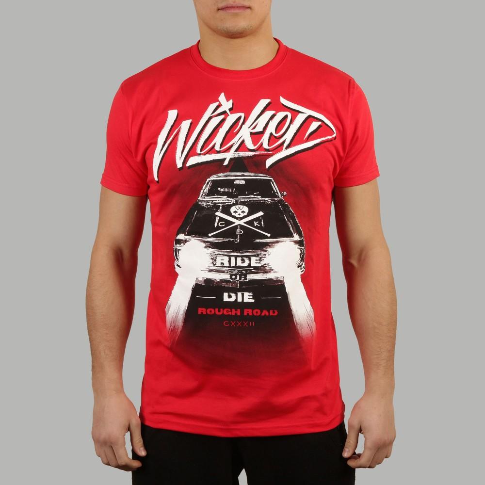 T-shirt Rough Road Rouge