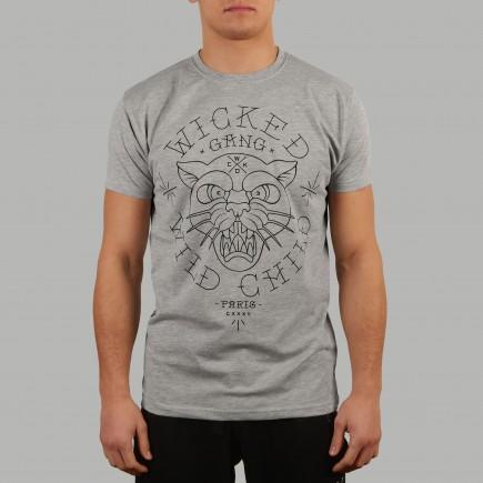 T-shirt Wild Child Gris