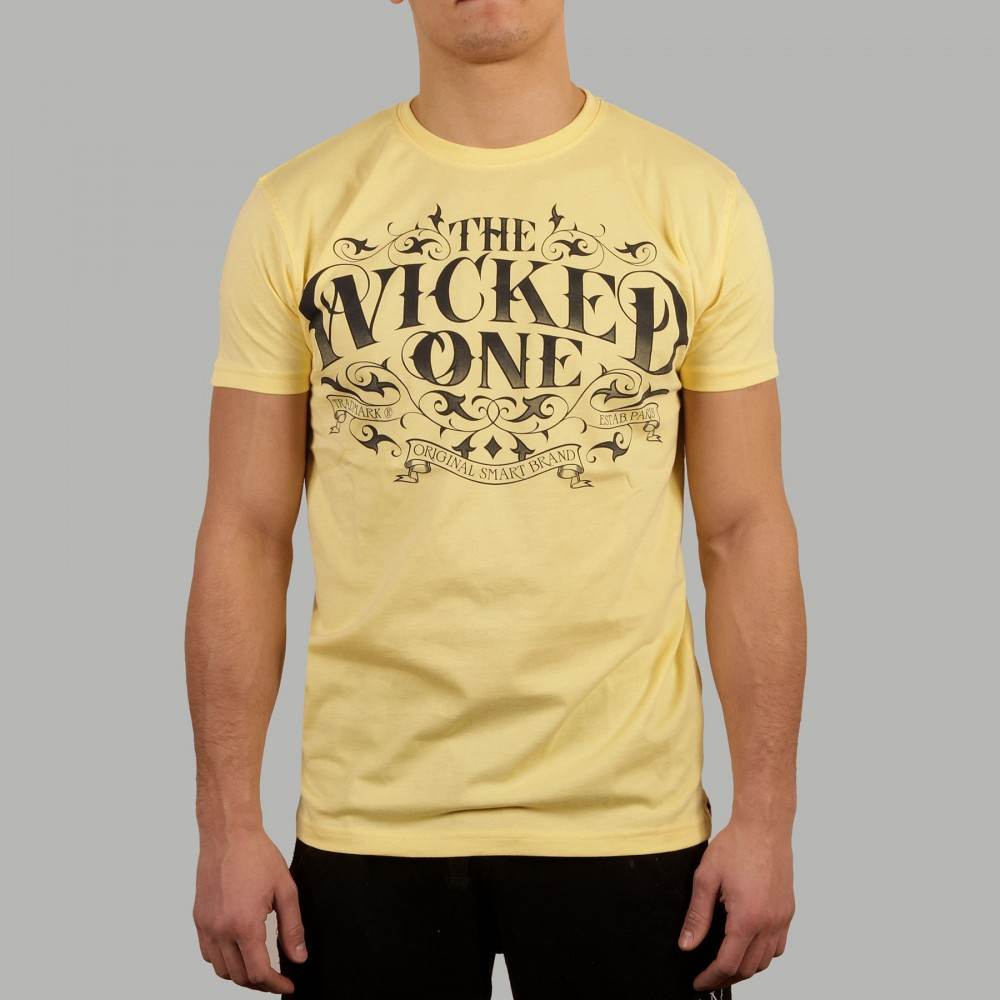 T-shir Wonderworld Jaune