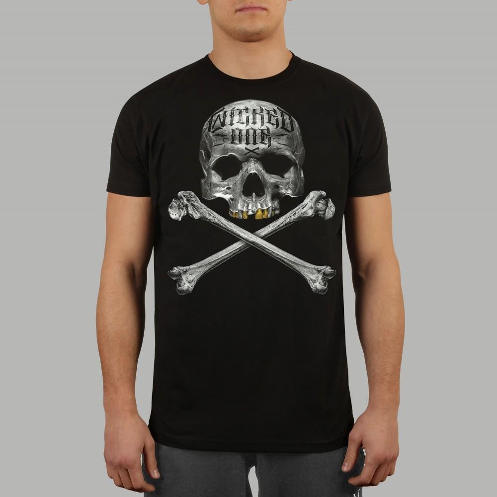 T-shirt Bones Noir