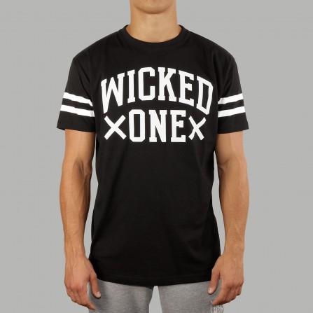 T-shirt Quaterback Noir