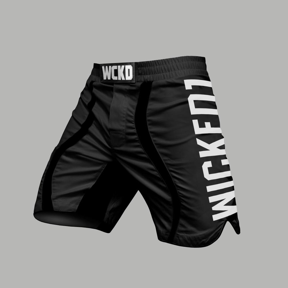 MMA Short Eager Noir
