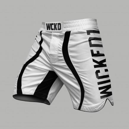 MMA Short Eager Blanc