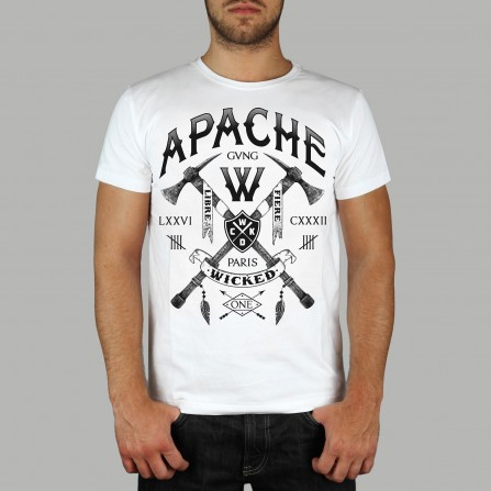 T-shirt Apache Blanc