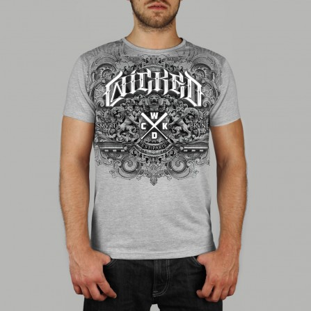 T-shirt Kingdom Gris