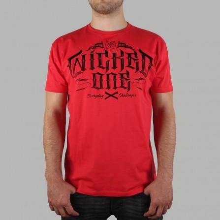 T-shirt Supreme Rouge