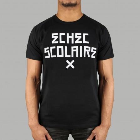 T-shirt Echec Scolaire Noir
