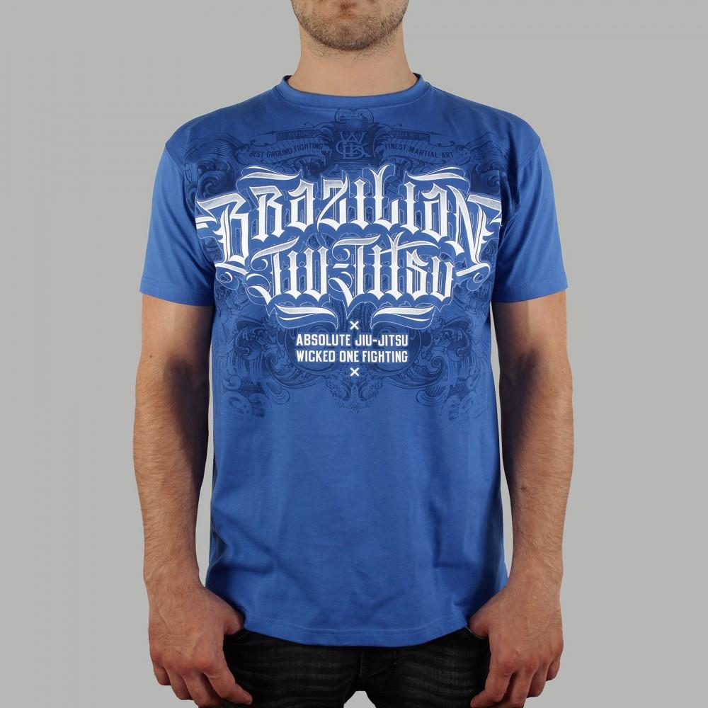 T-shirt Brazilian Jiu-Jitsu Bleu