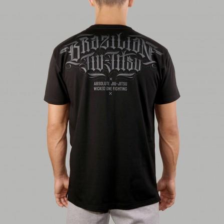 T-shirt Brazilian Jiu-Jitsu Noir