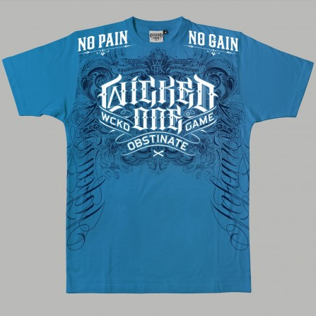 T-shirt Punish Bleu