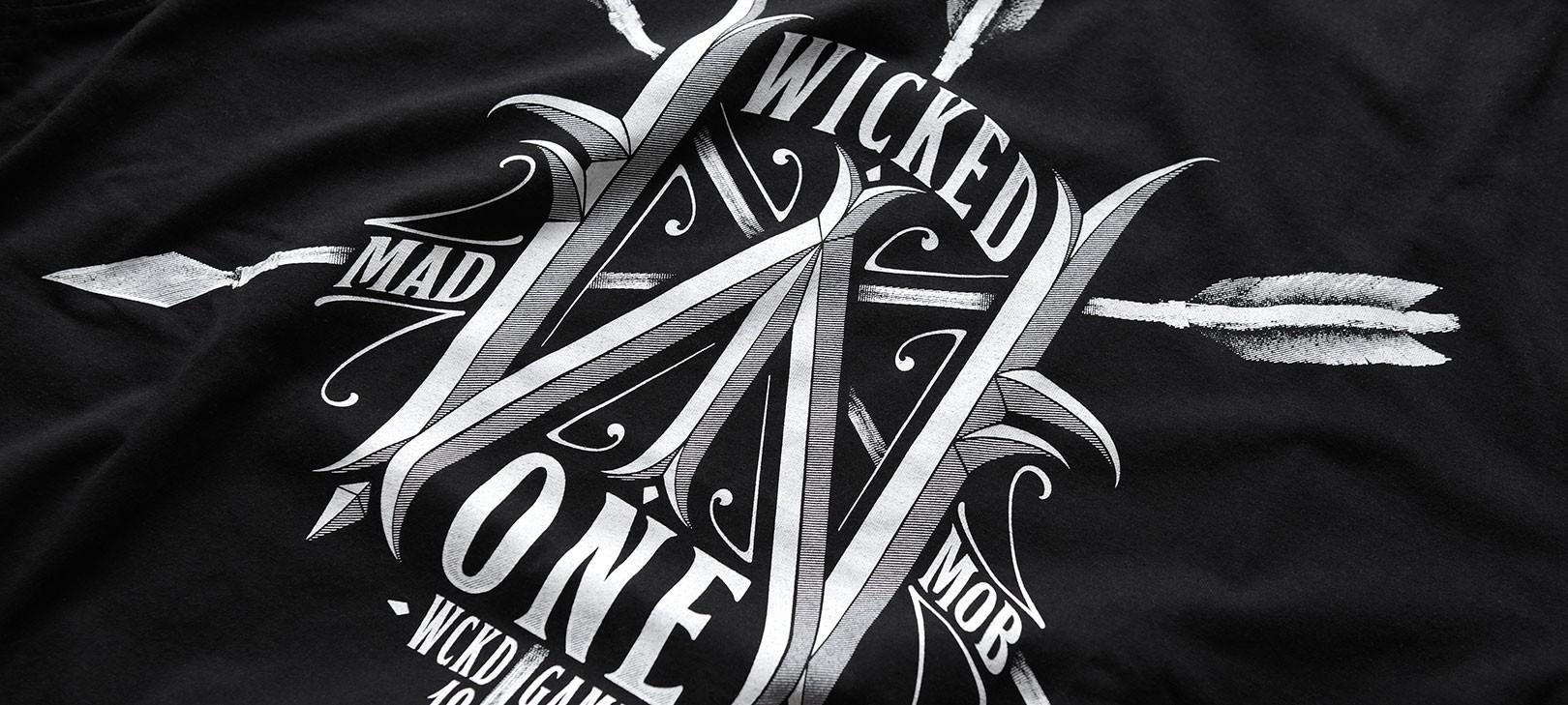 T-shirt Arrow Noir